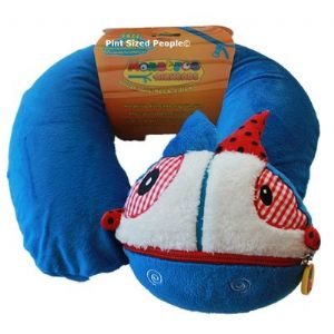 Monstros Airheads Inflatable Neck Pillow - Blue